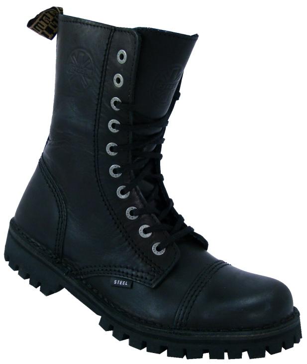 boty Steel bez ocelové špičky - 10 dírkové f0f1fe4236